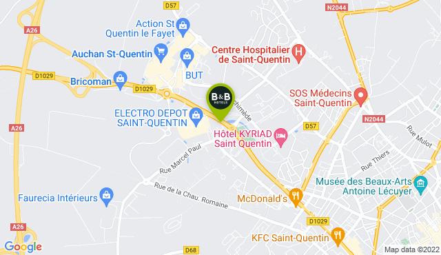 B&B Hotel Saint-Quentin