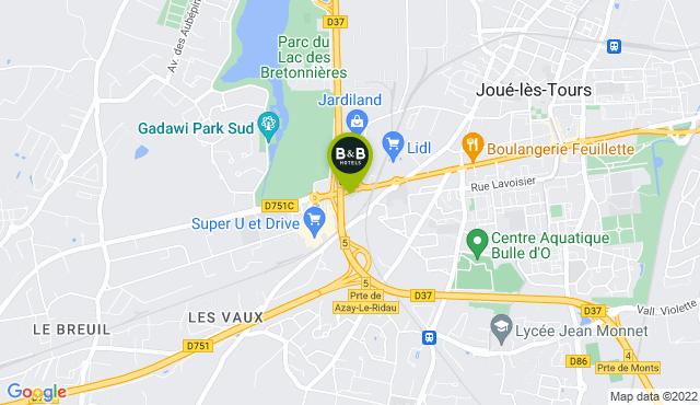 B&B Hotel Tours Sud Joué-lès-Tours