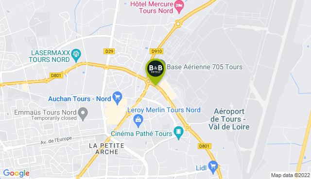 B&B Hotel Tours Nord 2 La Petite Arche