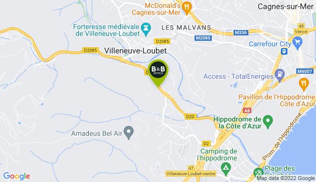 B&B Hotel Villeneuve-Loubet Village