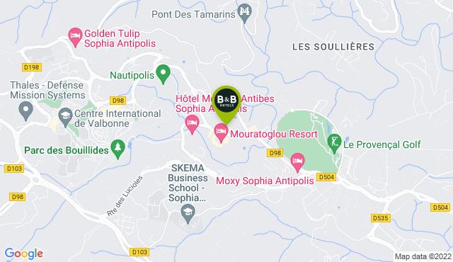 B&B Hotel Antibes Sophia Le Relais