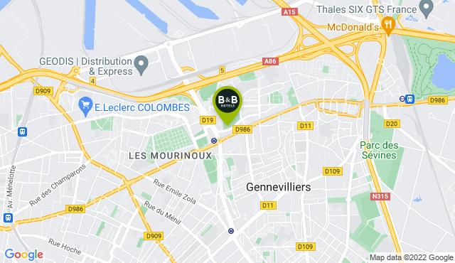 B&B Hotel Paris Gennevilliers Asnières