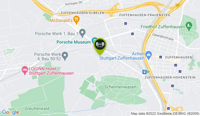 B&B Hotel Stuttgart-Zuffenhausen