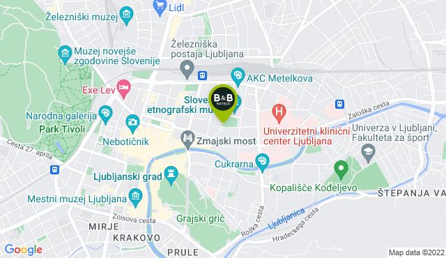 B&B Hotel Ljubljana Park