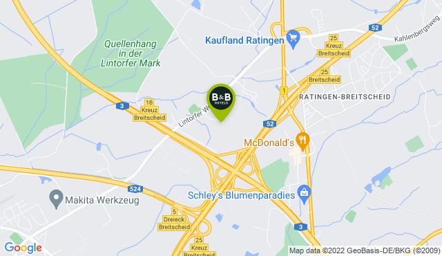B&B Hotel Düsseldorf-Ratingen