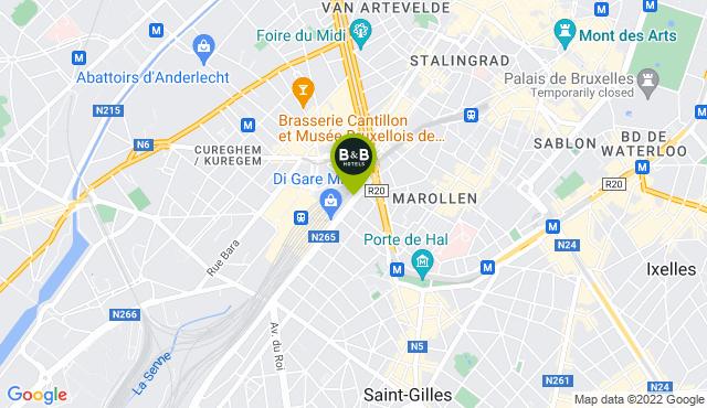B&B HOTEL Bruxelles Centro Midi Stazione