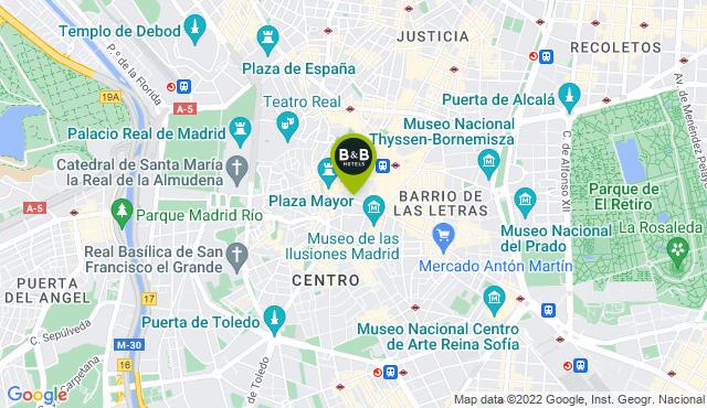 B&B Hotel Madrid Centro Plaza Mayor
