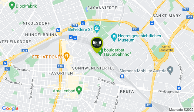 B&B Hotel Wien-Hbf