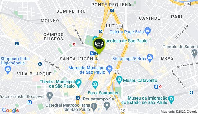 B&B Hotel São Paulo Luz - Centro