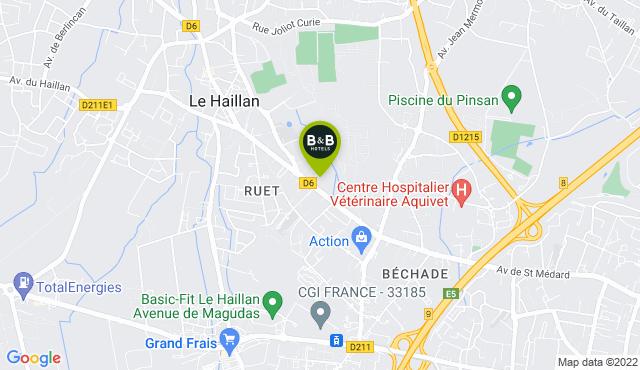 B&B Hotel Bordeaux Le Haillan