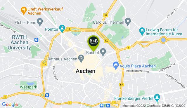 B&B Hotel Aachen-City