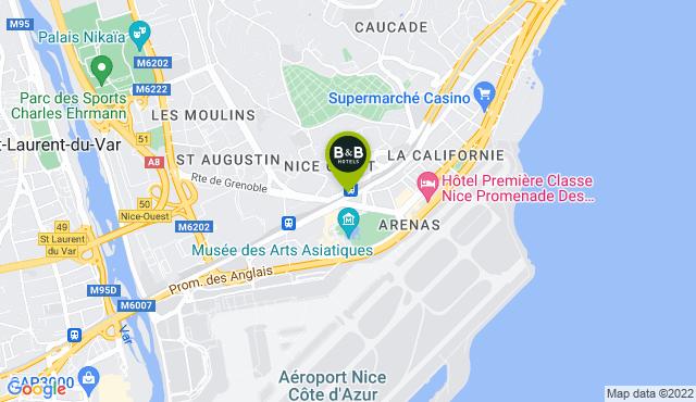 B&B Hotel Nice Aéroport Arenas