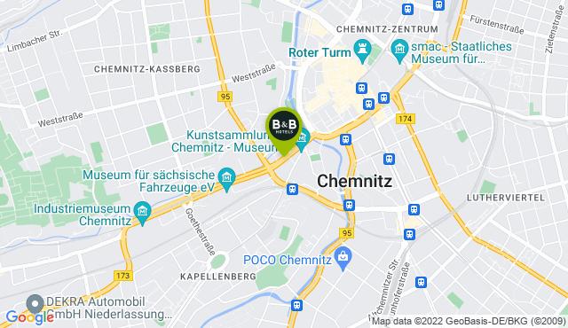 B&B Hotel Chemnitz