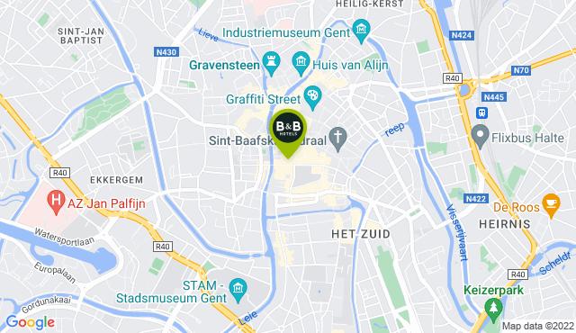 B&B HOTEL Gent Zentrum