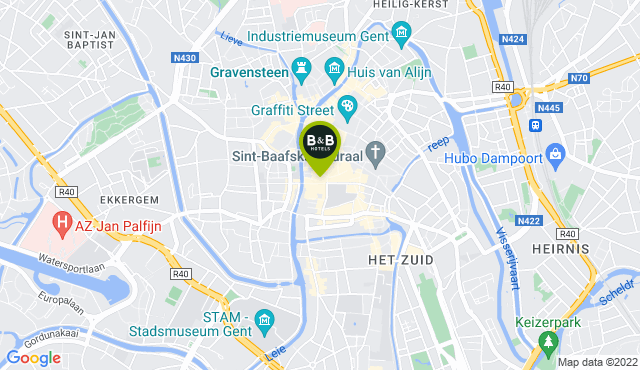 B&B HOTEL Ghent Centre