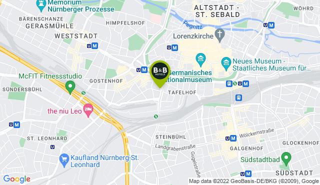 B&B Hotel Nürnberg-Plärrer
