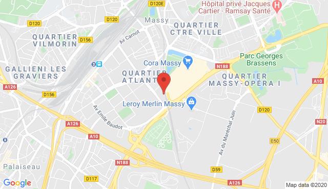 B&B Hotel Massy Gare TGV