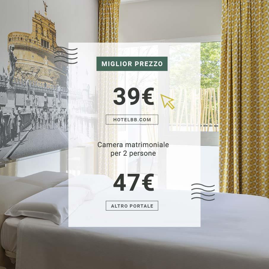 Il miglior prezzo è solo su hotelbb.com