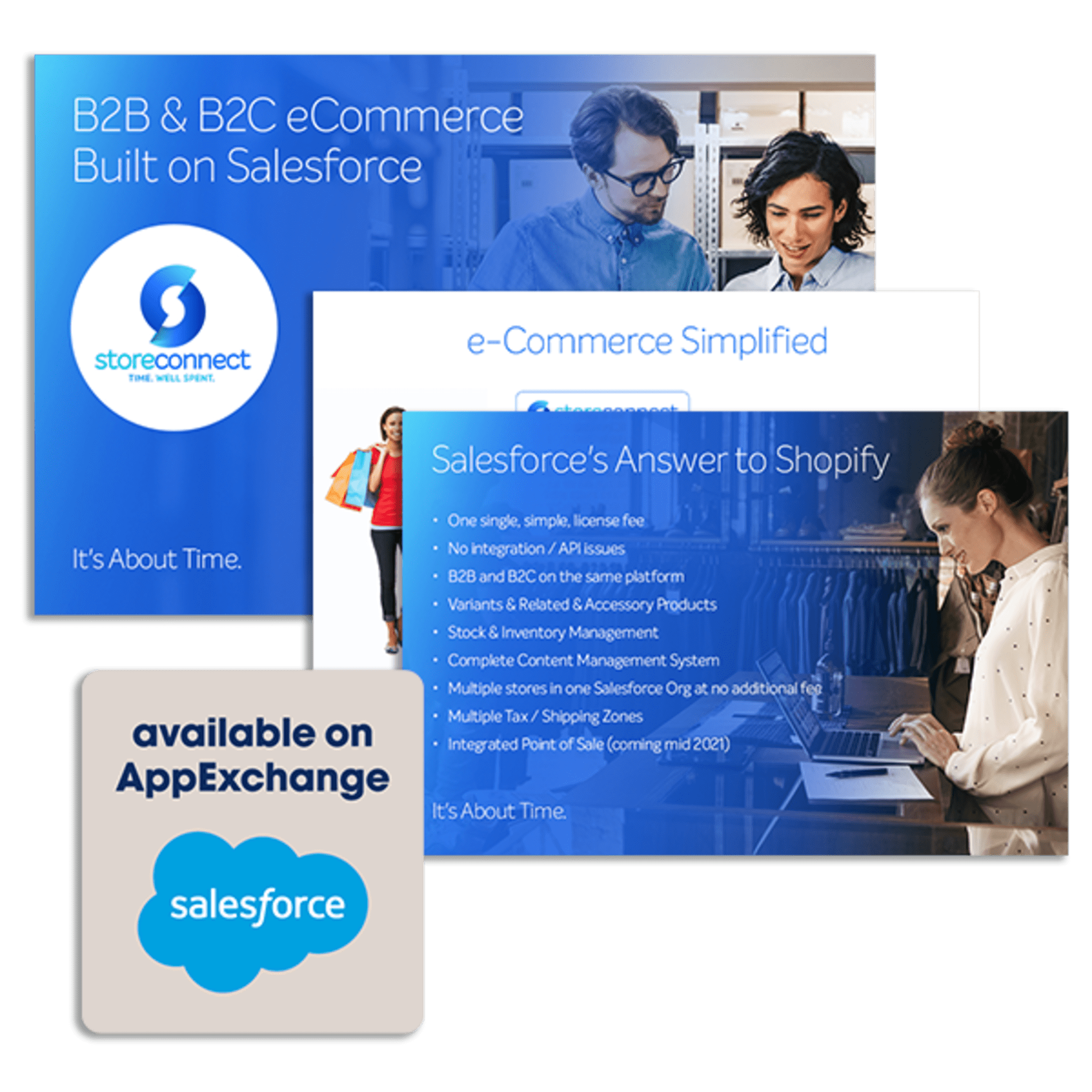 Appexch Available Infographic with the SalesForce logo