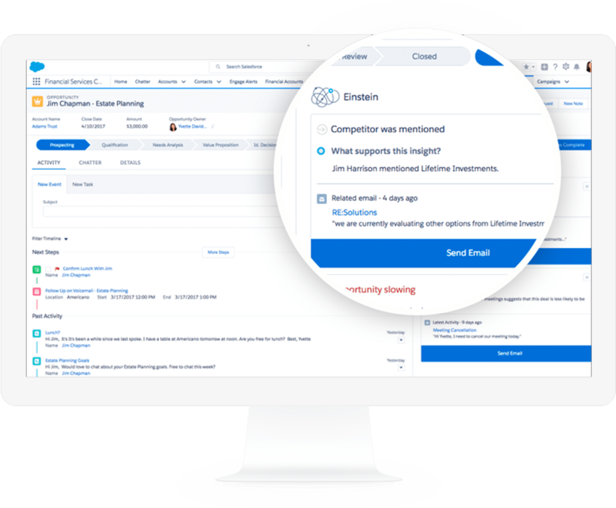 Inventory management using storeConnect within SalesForce