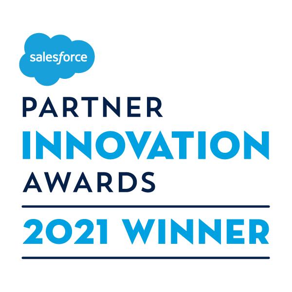 Salesforce 2021 Partner Innovation Award