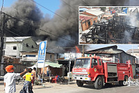 The cause of the fire in Tuol Sangke...
