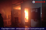 A fire broke out in a warehouse in...