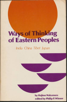 Ways of Thinking of Eastern Peoples: India, China, Tibet, Japan