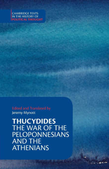 Thucydides: The War of the Peloponnesians and the Athenians (Translated By Jeremy Mynott)
