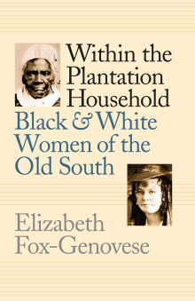 Within the Plantation Household: Black and White Women of the Old South
