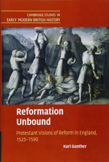 Reformation Unbound: Protestant Visions of Reform in England, 1525–1590