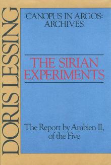 The Sirian Experiments