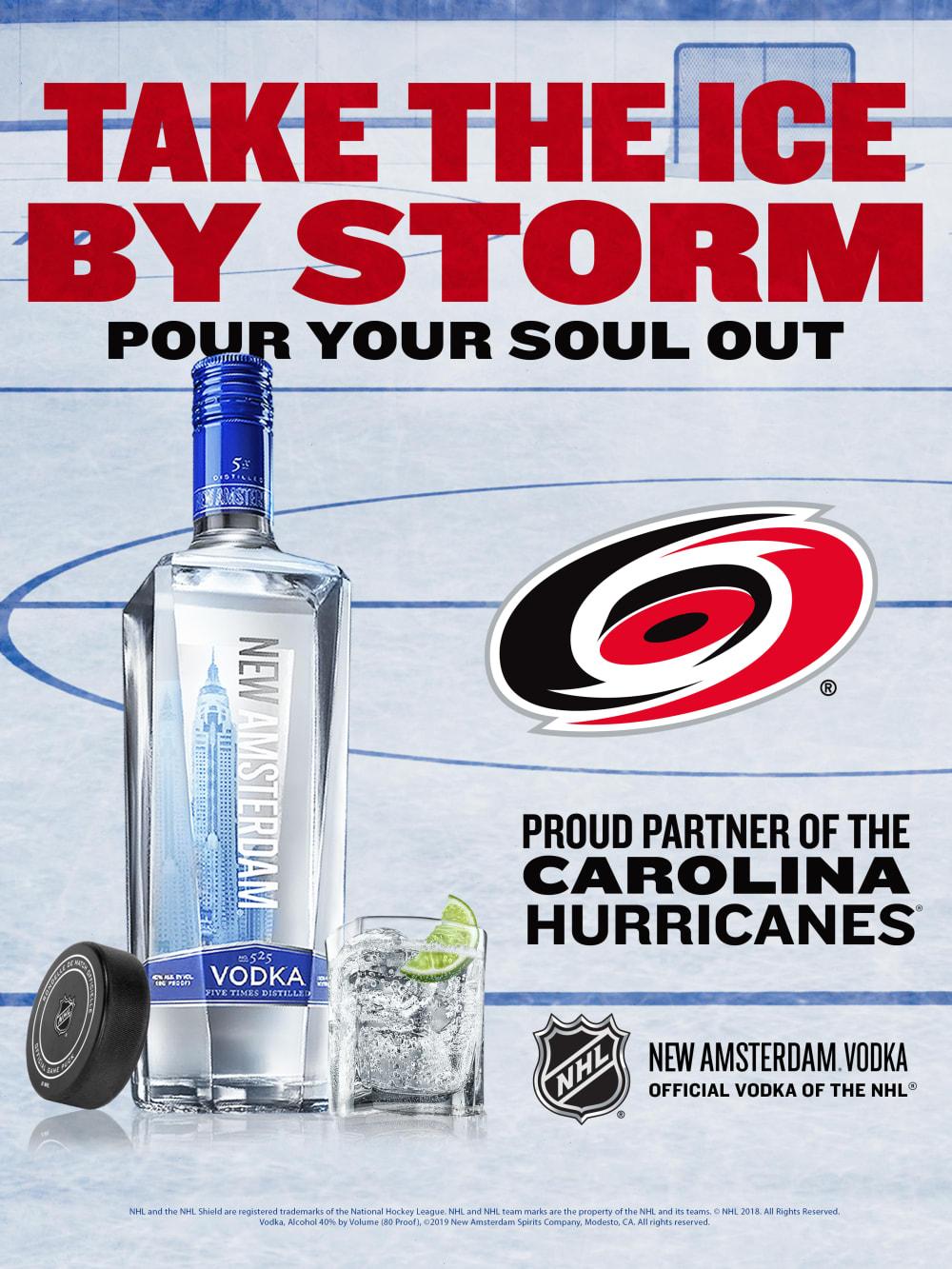 NAV Local NHL CarolinaHurricanes 18x24