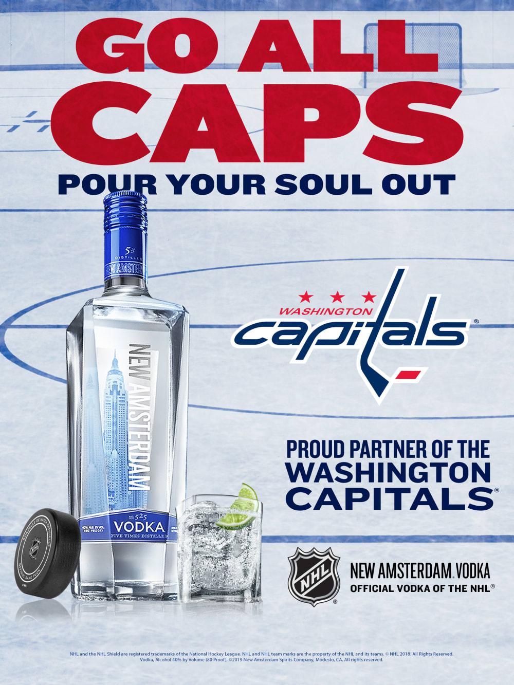 NAV Local NHL WashingtonCaptials 18x24