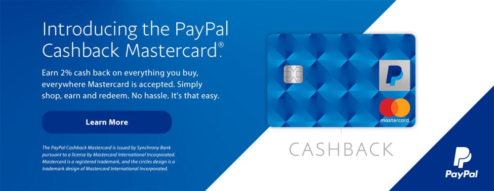 PayPal Cashback Banner v2