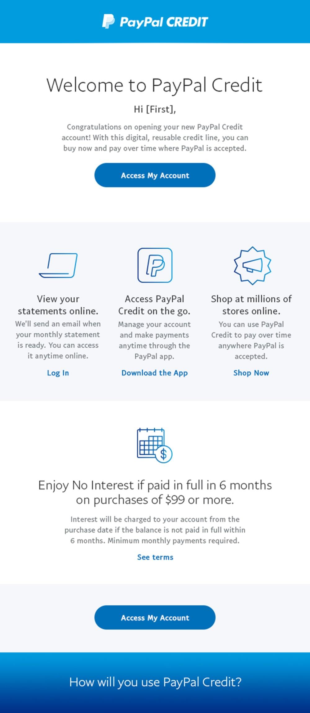 PayPal Credit Carousel 1