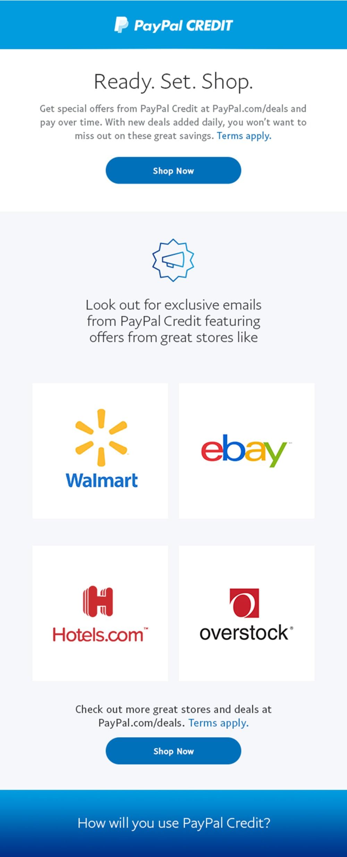 PayPal Credit Carousel 4 c