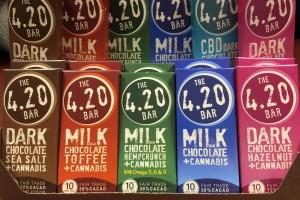 Chocolate - 420 Bar CBD Dark Chocolate - 10 mg image