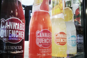 Beverage - Cannabis Quencher Blueberry Acai 30mg image