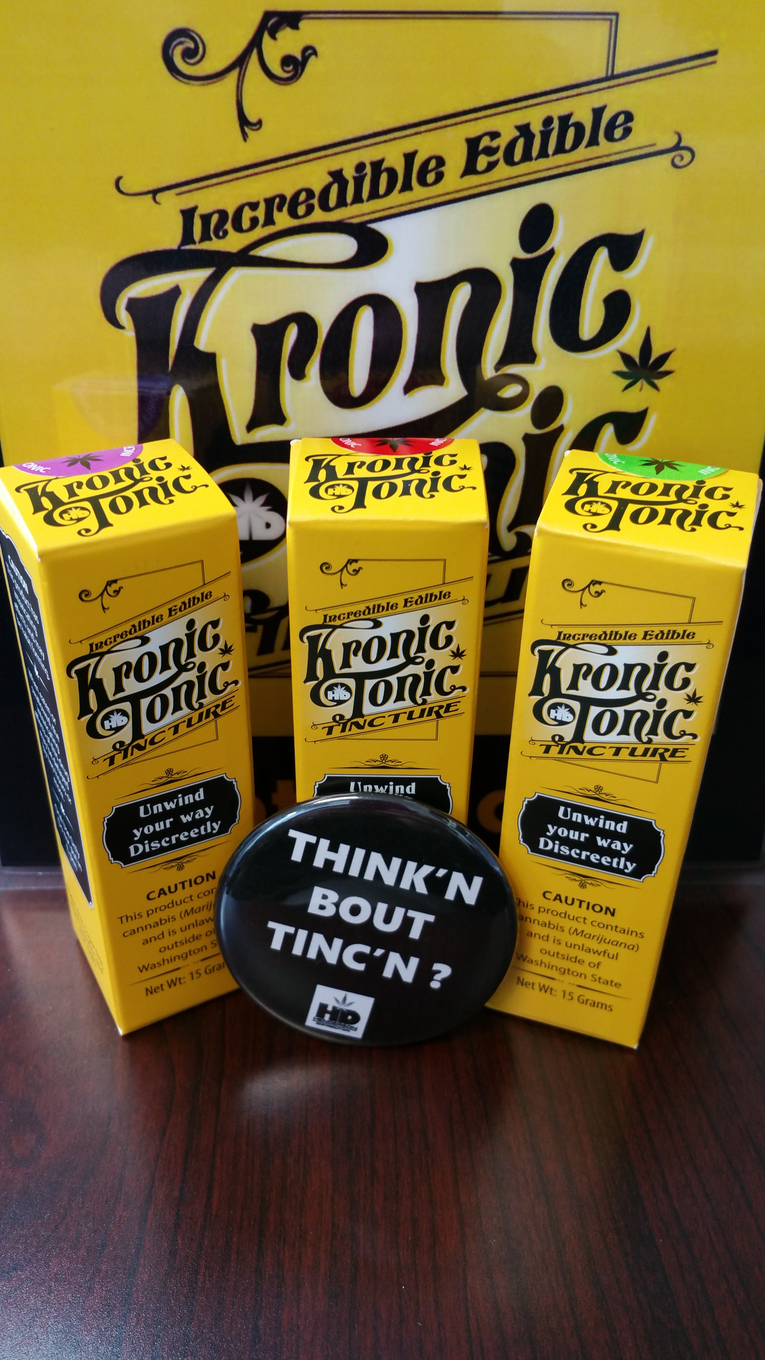 Tincture - Kronic Hd Tonic Indica Product image