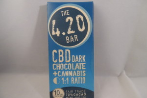 CBD - 420 Dark Choc. Bar image