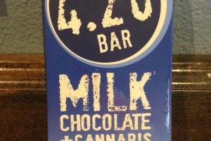 Chocolate - 420 Bar - Milk Chocolate - 10 mg image
