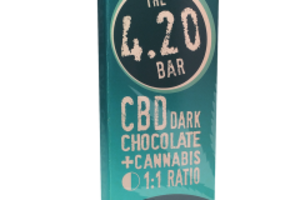 420 Bar - CBD Dark Chocolate 1-pack image