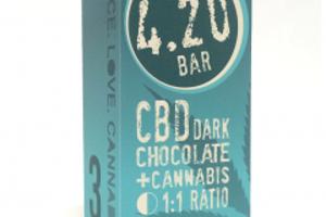 420 Bar - CBD Dark Chocolate 3-pack image