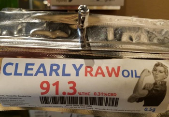 Clearly Raw Oil image
