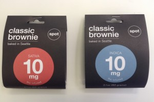 Brownies - 10mg THC Sativa or Indica  image
