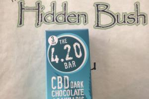 CBD - 420 Dark Choc Bar 3pk image