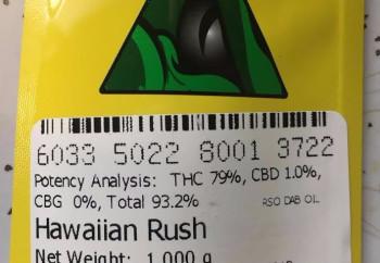Hawaiian Rus RSO Syringe (Doc Croc) image