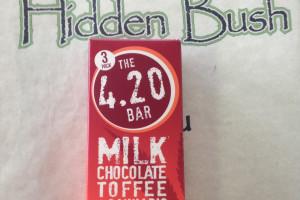 Choc. Bar - 420 Choc. Toffee 3pk image