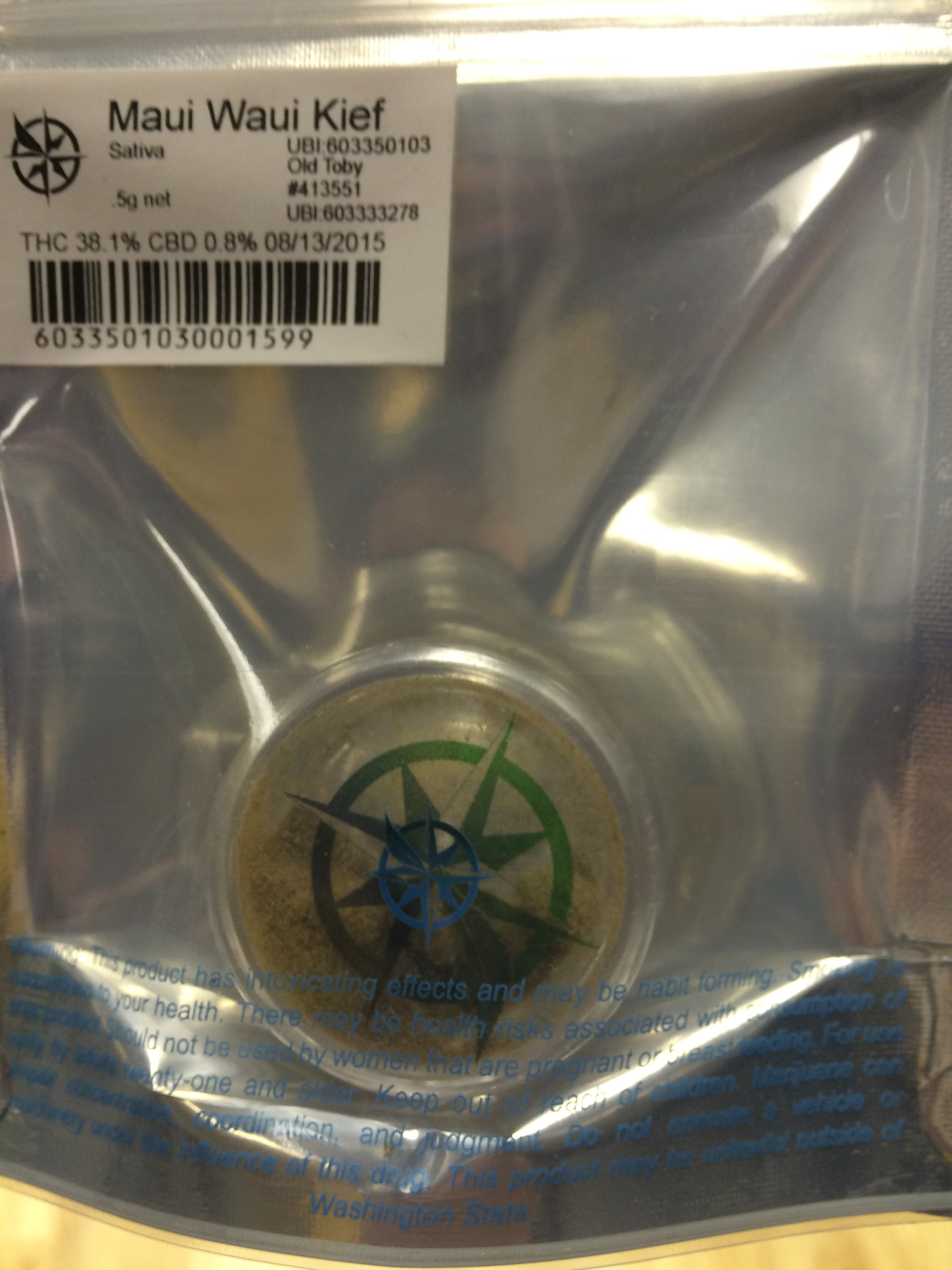 Maui Wowie Oil Cartridge Product image